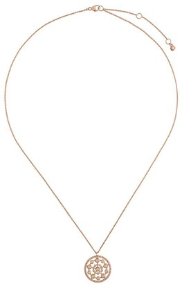 Astley Clarke 14kt rose gold Icon Nova Opal necklace
