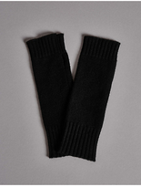Autograph Pure Cashmere Slash End Gloves