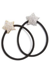 Tasha Twinkle Star Set Of 2 Ponytail Holders