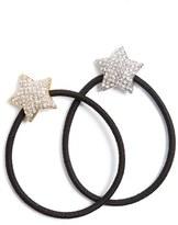 Tasha Twinkle Star Set Of 2 Ponytail Holders