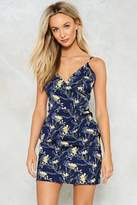 Nasty Gal nastygal Don't Even Grow There Floral Dress