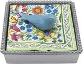 Mariposa Bluebird Napkin Box