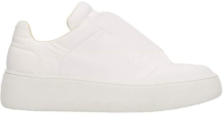 Maison Margiela White Leather Future Sneakers