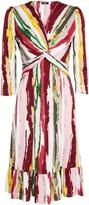 Wallis **Jolie Moi Pink Knot Front Dress