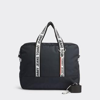 Tommy Hilfiger Recycled Logo Tape Messenger Bag