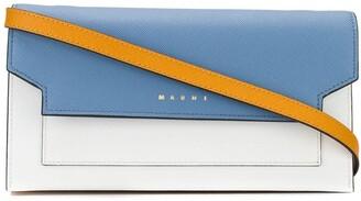 Marni Rectangular Wallet With Shoulder Strap