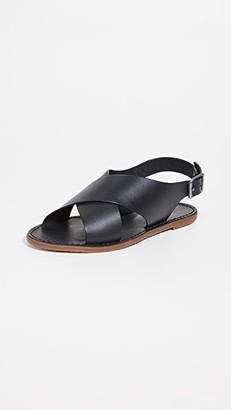 Madewell Boardwalk Crossover Sandals
