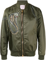 Palm Angels classic bomber jacket - men - Polyamide/Viscose - M