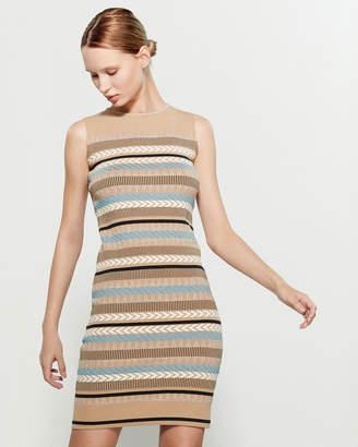 Knitss Queens Sleeveless Bodycon Dress