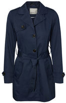 Vero Moda Abby Button Front Trench Coat