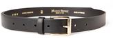 MAISON BOINET Classic Wrap Belt - Black