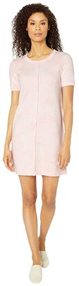Mod-o-doc French Terry Tie-Dye T-Shirt Dress (Sweet Tart) Women's Dress
