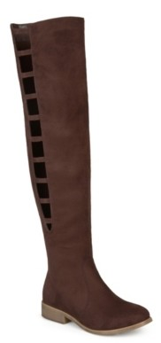 Journee Collection Pitch Wide Calf Thigh High Boot