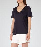 Reiss Kim Bead-Detail T-Shirt