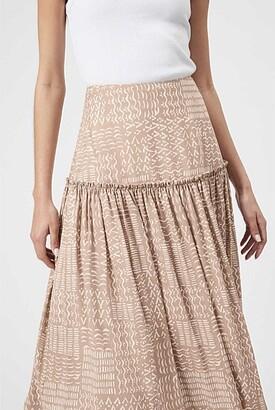 Witchery Print Tier Skirt