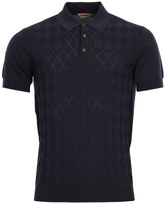 Baracuta Polo Shirt Knitted BRMAG0001 BKNT1 309 Navy