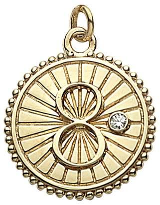 Foundrae Baby Karma Medallion - Yellow Gold