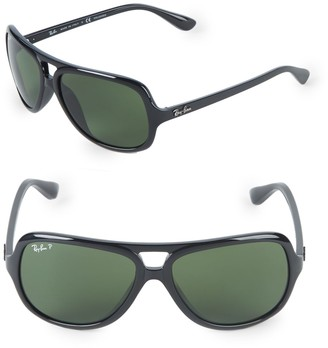 Ray-Ban 59MM Polarized Pilot Sunglasses