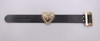 GUESS Logo Heart Buckle Bracelet