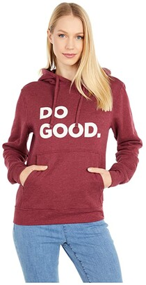 Cotopaxi Do Good Hoodie (Port) Women's Sweatshirt