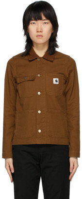 Carhartt Work In Progress Brown Michigan Jacket