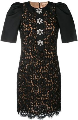 Michael Kors Collection Floral Lace Dress