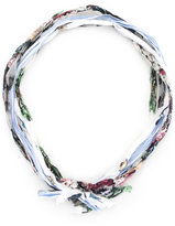 Undercover printed scarf