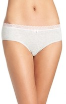 Betsey Johnson Women's Stretch Cotton Hipster Panties