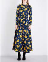 Altuzarra Melia floral silk-jacquard dress