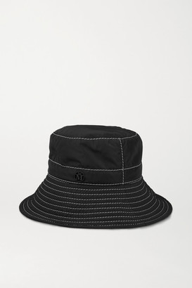 Maison Michel Charlotte Shell Bucket Hat - Black