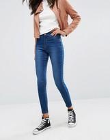 Boohoo Mid Rise Skinny Jeans