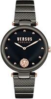 Thumbnail for your product : Versus By Versace Versus Women's Los Feliz Black Stainless Steel Bracelet Watch 34mm