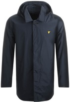 Lyle & Scott Removable Hooded Jacket Navy