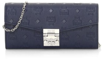MCM Patricia Monogram Leather Wallet-On-Chain