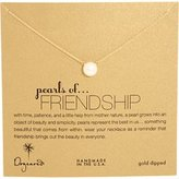 Dogeared Women's Pearls of Friendship Necklace Necklace