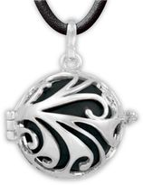 Kushies Spindrift Angel Caller Maternity 23.5-Inch Chain Necklace in Black