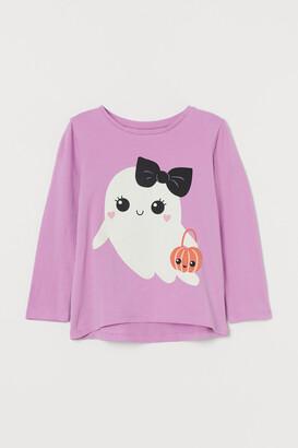 H&M Printed Cotton Shirt