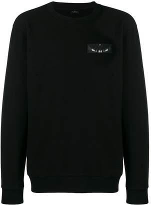 Marcelo Burlon County of Milan Wings patch sweatshirt