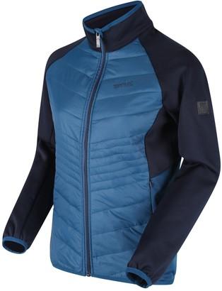 Regatta Clumber Hybrid Jacket - Blue/Navy