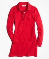 Brooks Brothers Long-Sleeve Polo Dress