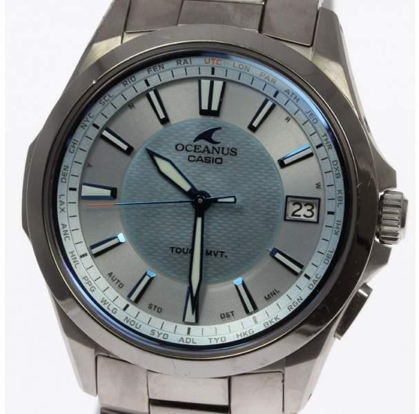 Casio Oceanus OCW-S100 Titanium 40mm Mens Watch