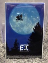 "Home Comforts E.T. Spielberg Movie Poster 2"" x 3"" Refrigerator Locker MAGNET"