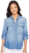 Calvin Klein Jeans Utility Lyocell Shirt Women's Clothing