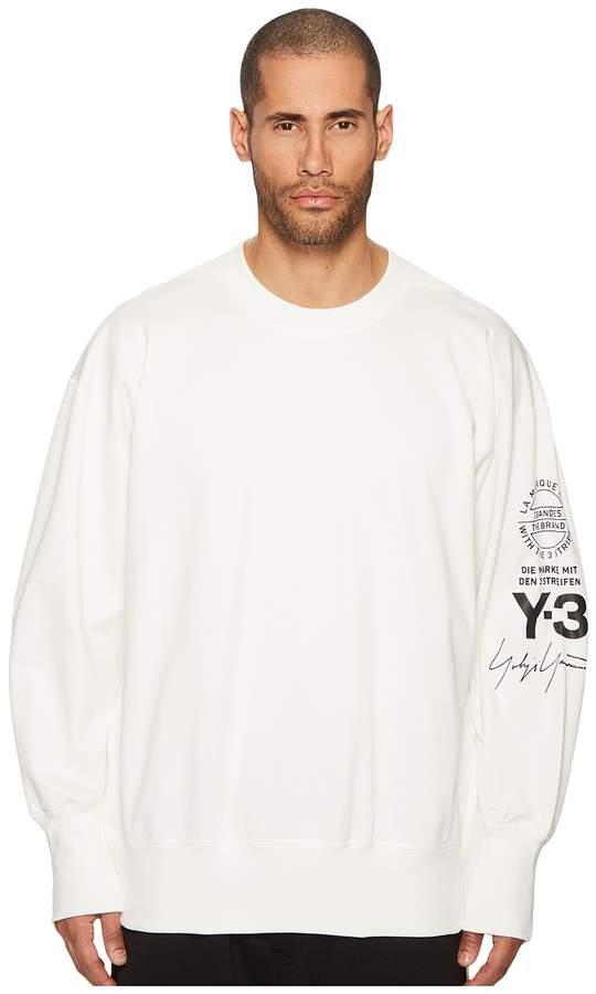 Yohji Yamamoto Graphic Crew Sweater
