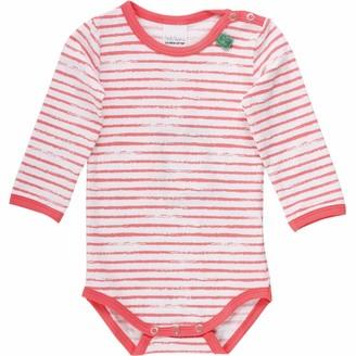 Fred's World by Green Cotton Baby Girls' Ocean Stripe Body Shaping Bodysuit