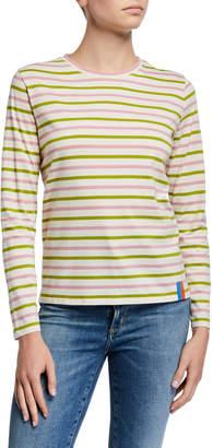 Kule The Modern Long-Sleeve Striped Shirt