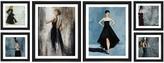 PTM Images Glam in Black Collage 6-Piece Framed Giclee Set