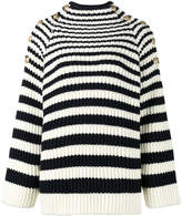 Alberta Ferretti long sleeve striped jumper
