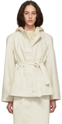 Lemaire White Martial Jacket