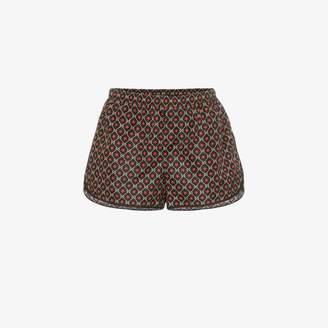 Gucci GG star print swim shorts